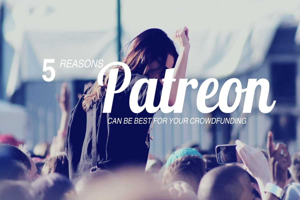 Patreon Serves Creative Producers