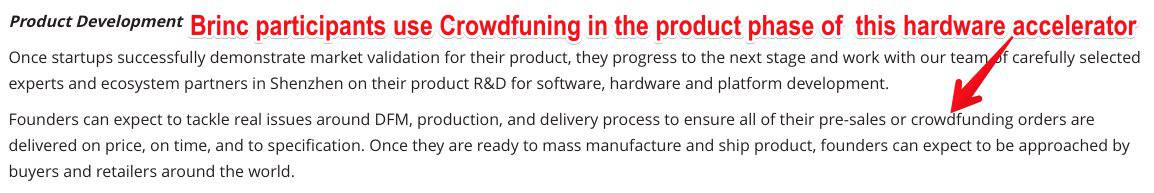 Brinc Hardware Development Crowdfunding
