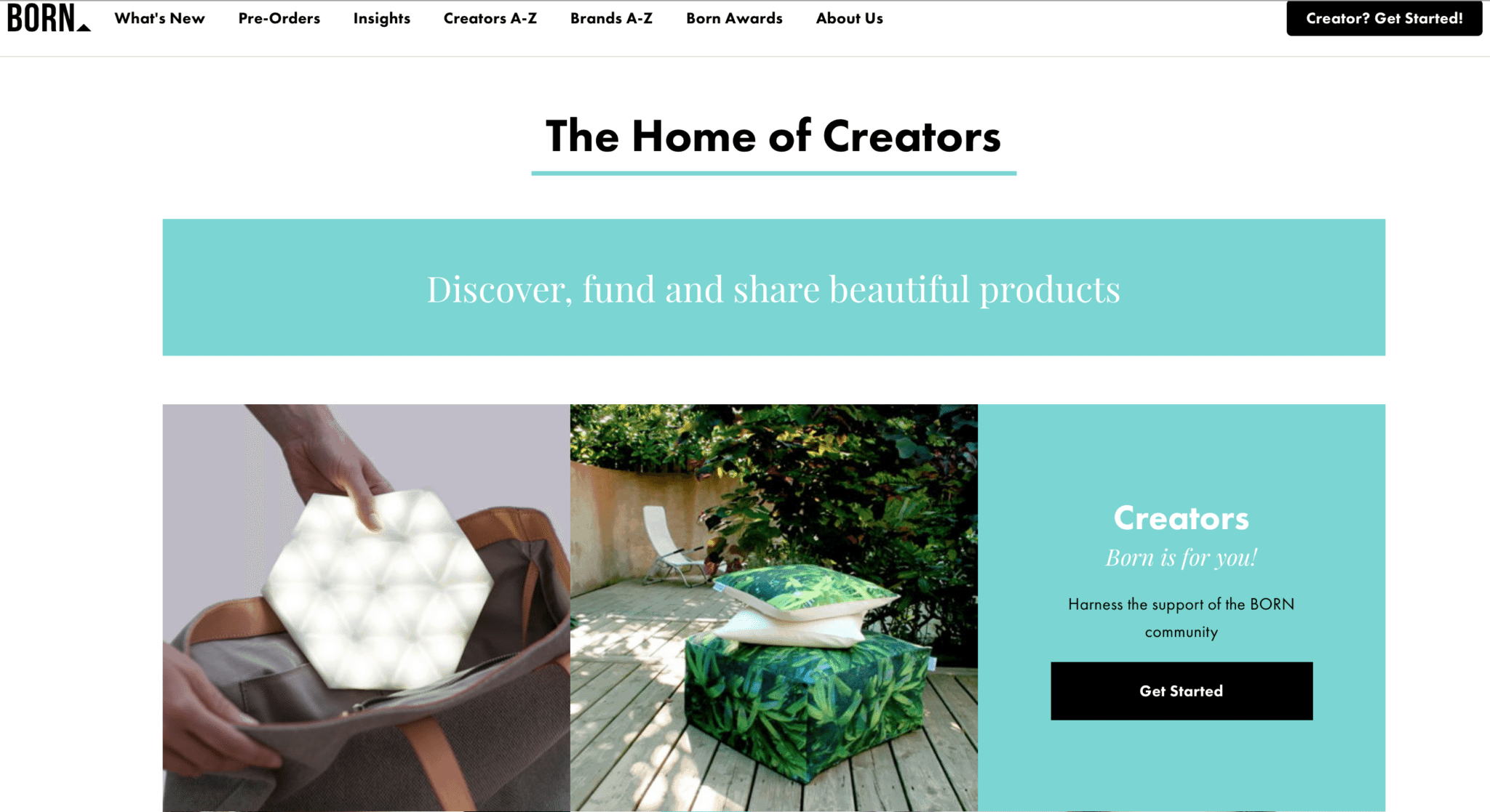 Preorder Creative Maker Platform: Born