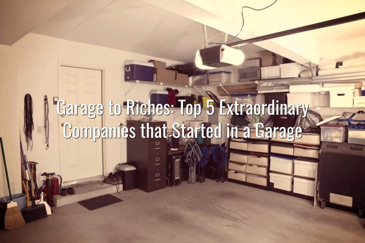 Garage to Riches