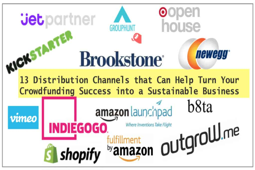 post crowdfunding distribution channels products