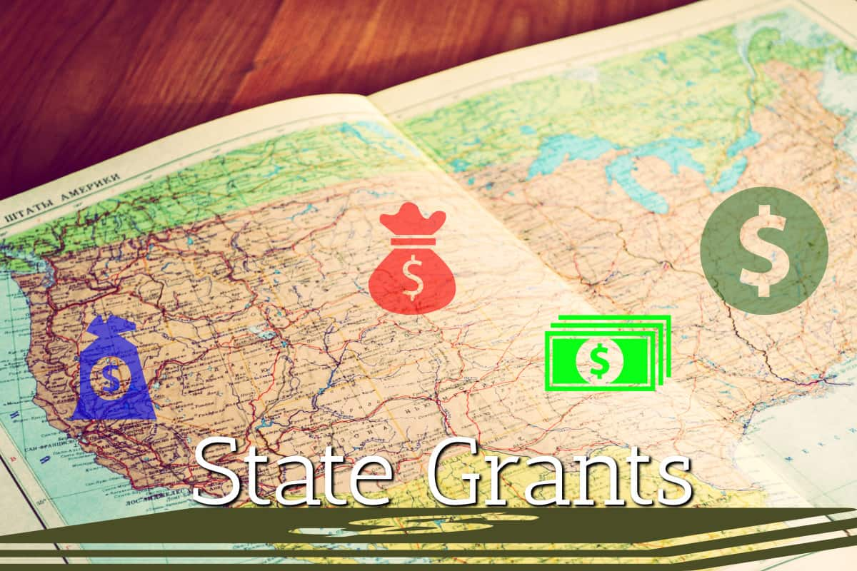 Grants by States USA