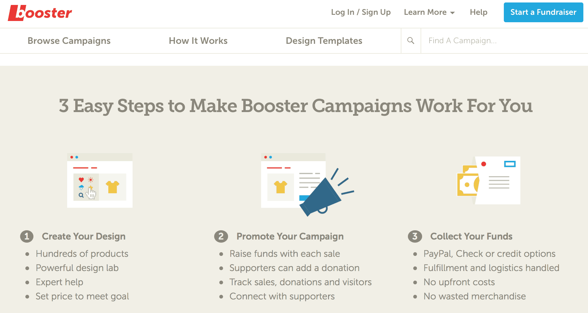 How Booster Fundraising Works