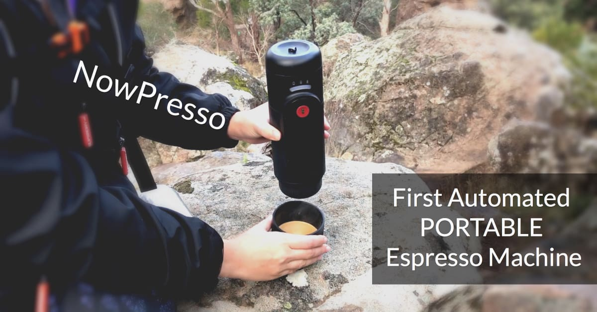 Word's First Automated Travel Espresso Machine