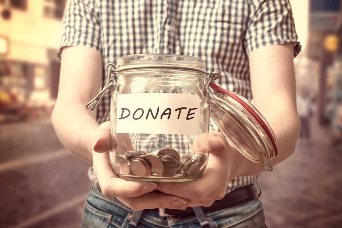 Donations or Equity