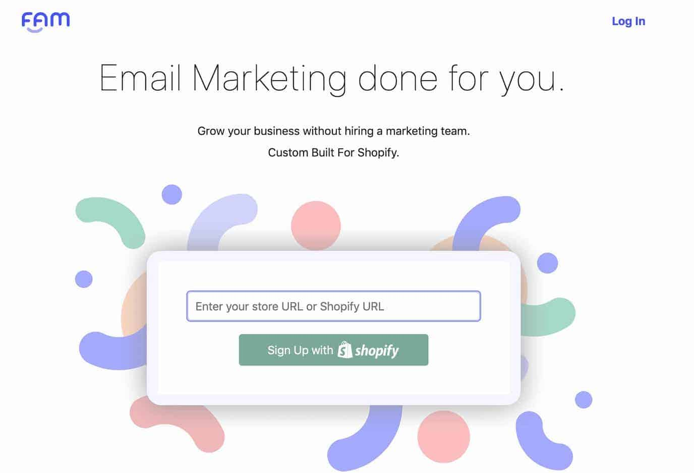 FAM Shopify Email Automation