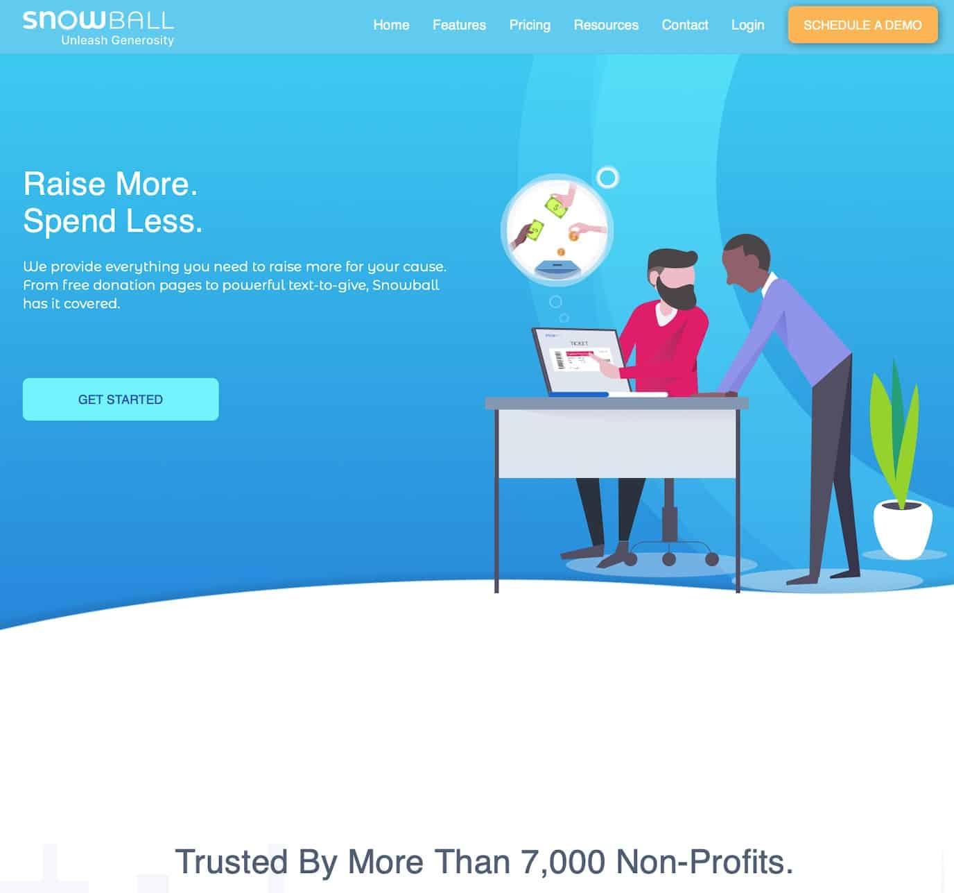 Snowball Fundraising Non-Profit