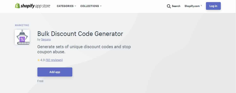 bulk discount generator shopify